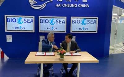 Bio-UV and Hai Cheung sign UV BWT agreement