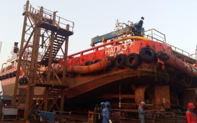Seal retrofit keeps offshore tug on hire