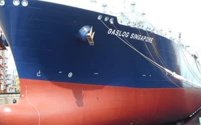 Gas carrier fleet looks for hull efficiency