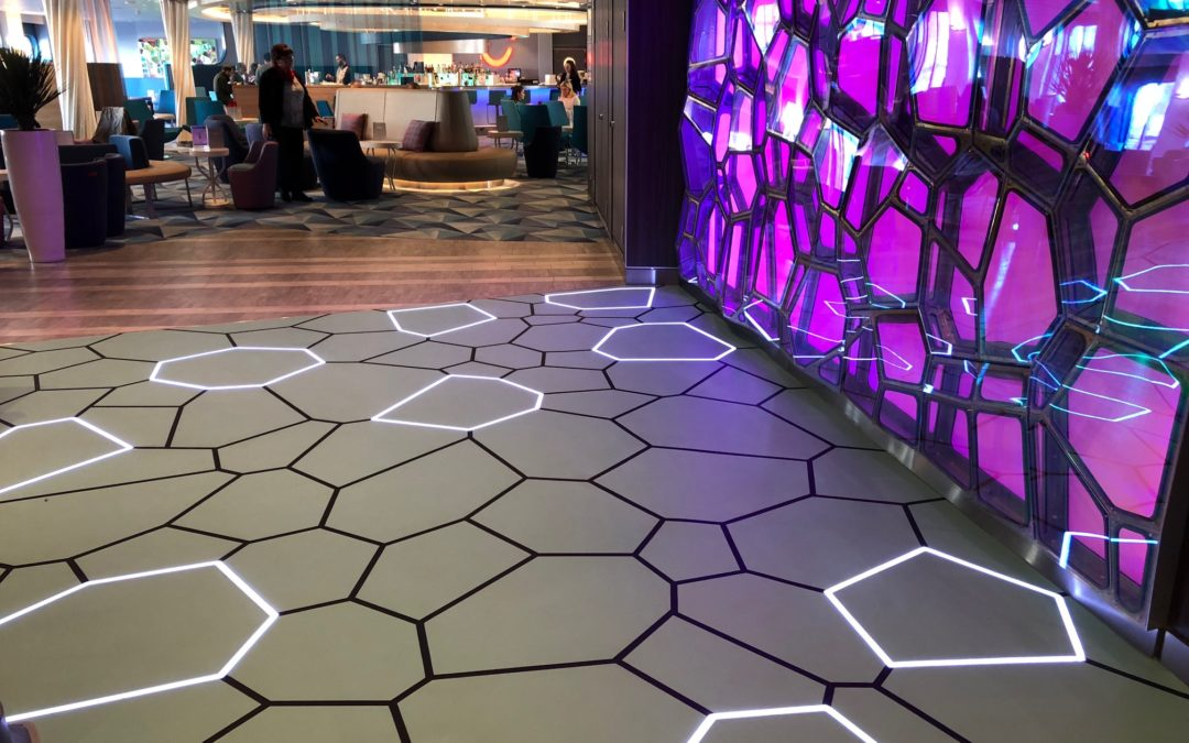 Bolidt lights the way to cruise ship creativity