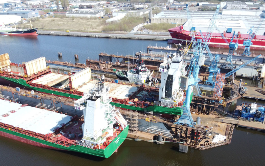 Bredo Dry Docks continues work uninterrupted