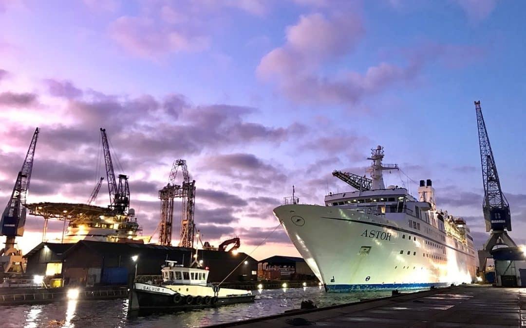 Spotlight on cruise & ferry repairs