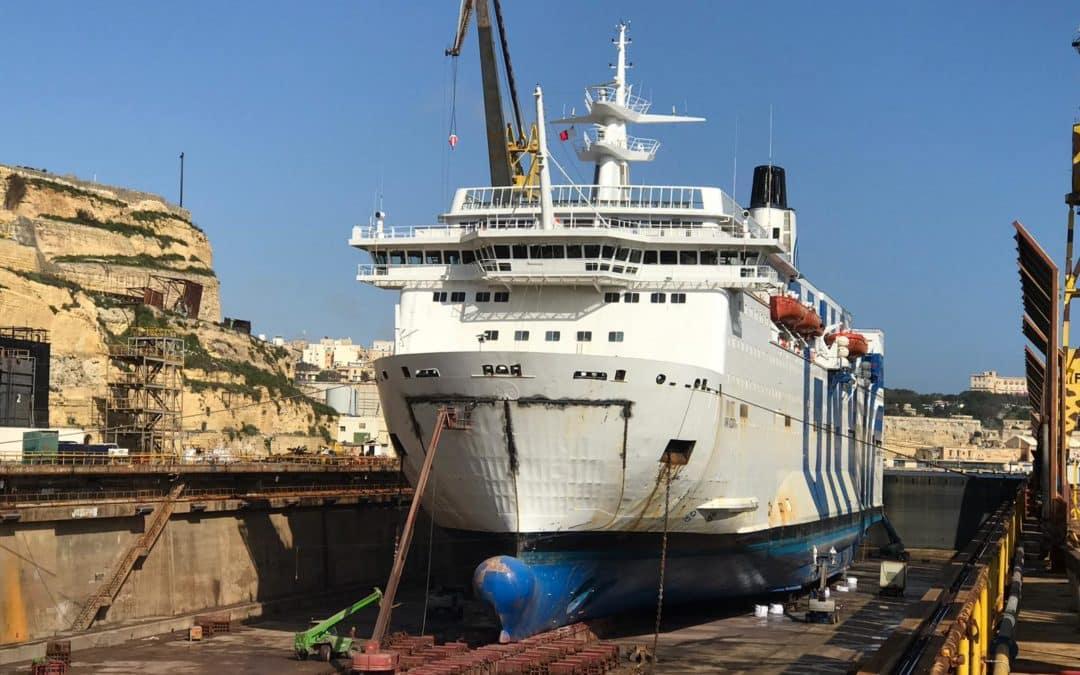 ALL Palumbo Shipyards working