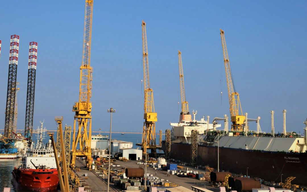 The Erhama bin Jaber Al Jalahma shipyard remains fully operational throughout the COVID-19 pandemic