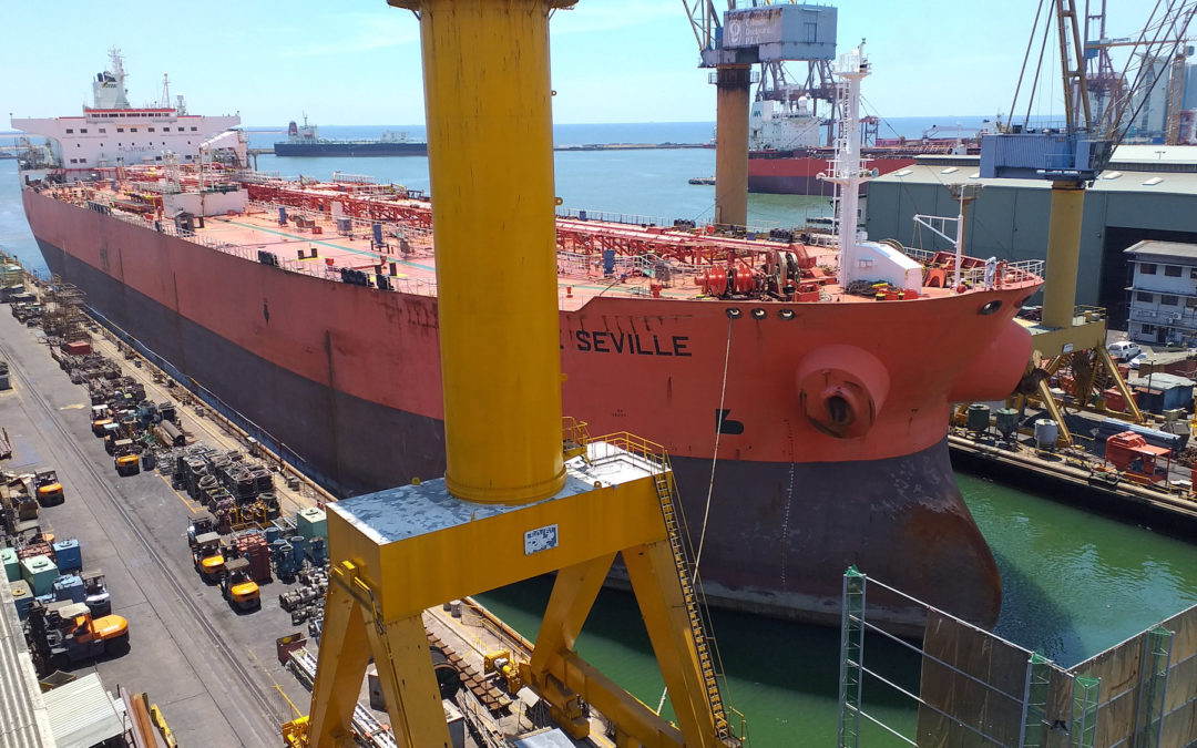 Mid-May return to new-normal at Colombo Dockyard