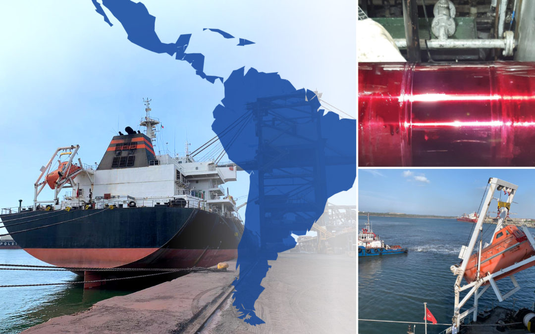 Simultaneous repairs in South and Central America