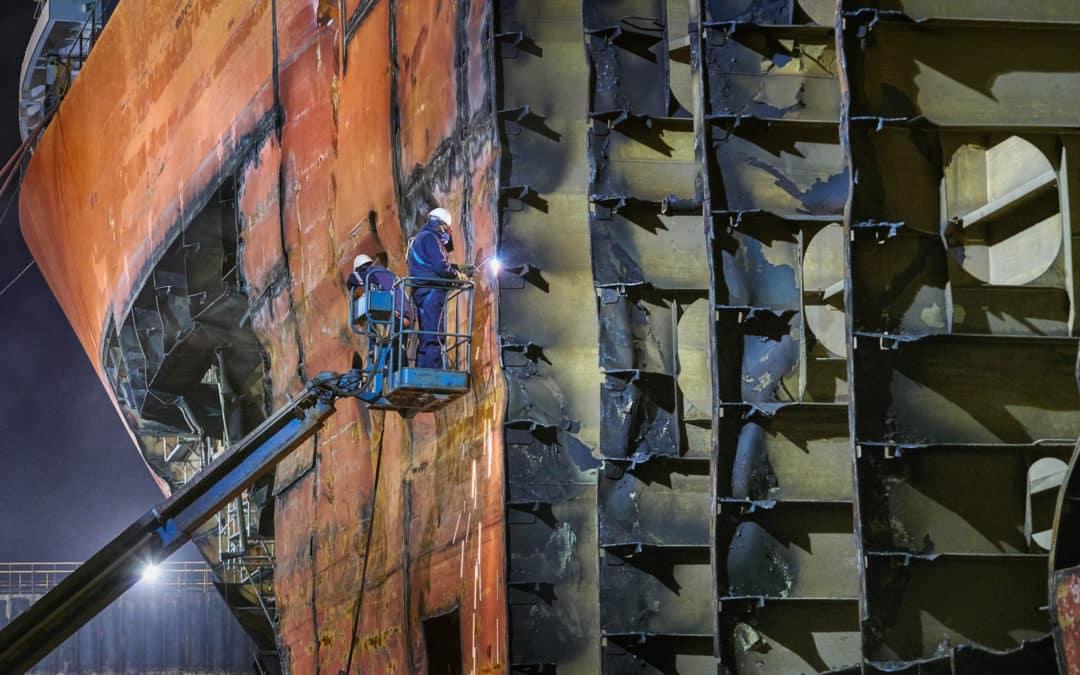 Damen Shiprepair & Conversion is an internationally active operation