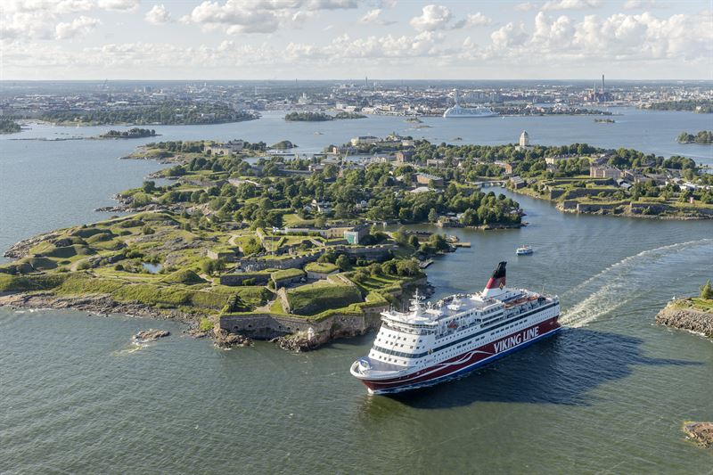 Viking Line to launch cruise service from Helsinki to Mariehamn