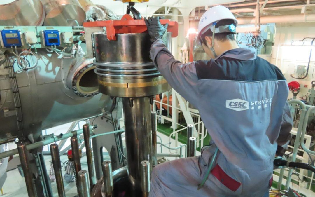 CSSC Marine Service completes first WinGD X-DF engine major overhaul in nine days