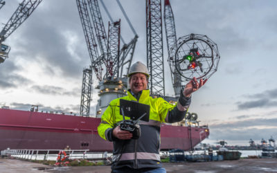 Specialist drone and ROV services