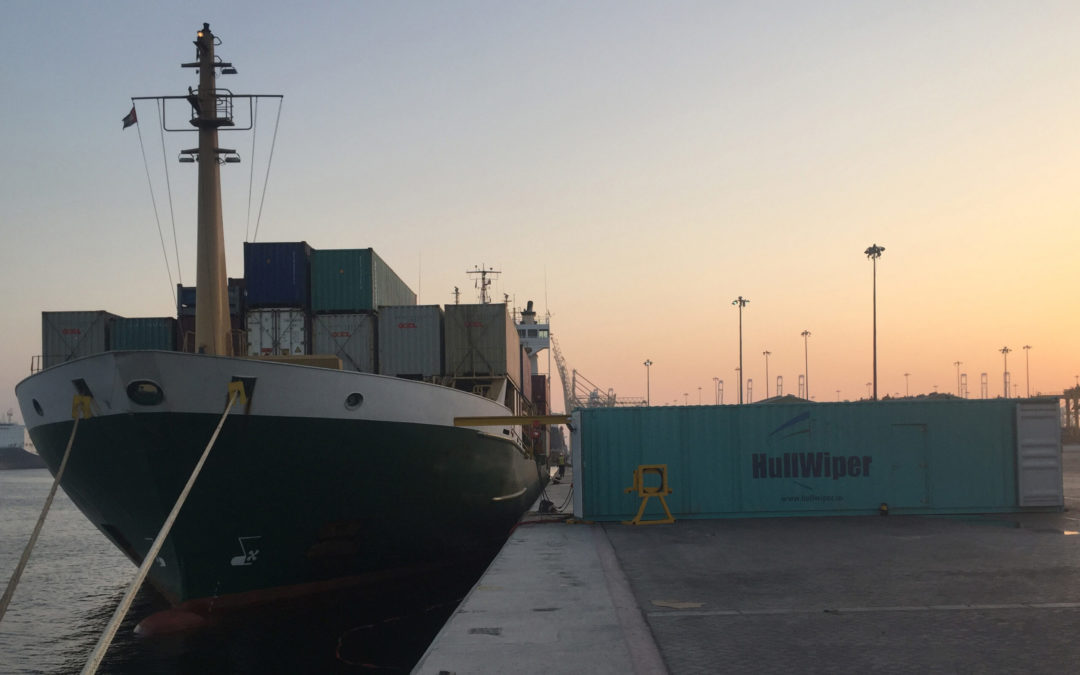 HullWiper to launch mobile hull cleaning in Namibia