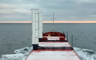 Boomsma Shipping installs two eConowind Flatrack VentiFoils