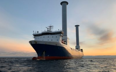 Tilt-able rotor sail first
