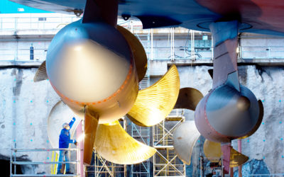 Celebrating 30 years of Azipod electric propulsion