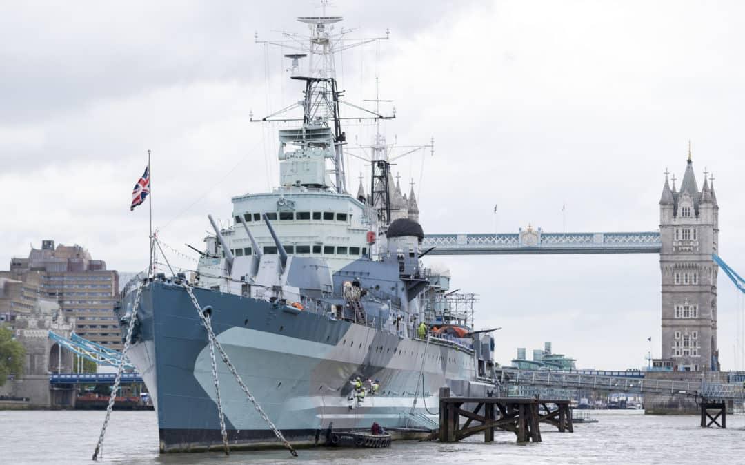 Jotun sponsors HMS Belfast restoration